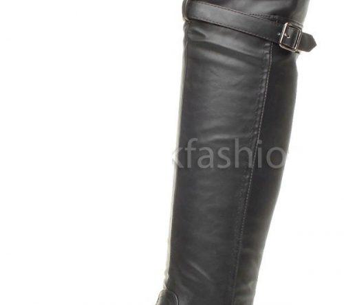 1958a80f9eb5 Zimné čižmy nad kolená Black Suede. 55.90 €. Výber možnostíQuick View