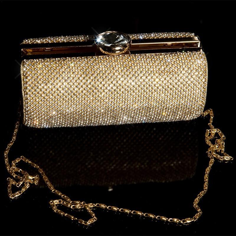 b244bd1205 Spoločenská kabelka zlatá GLAMOUR – Sissy Boutique