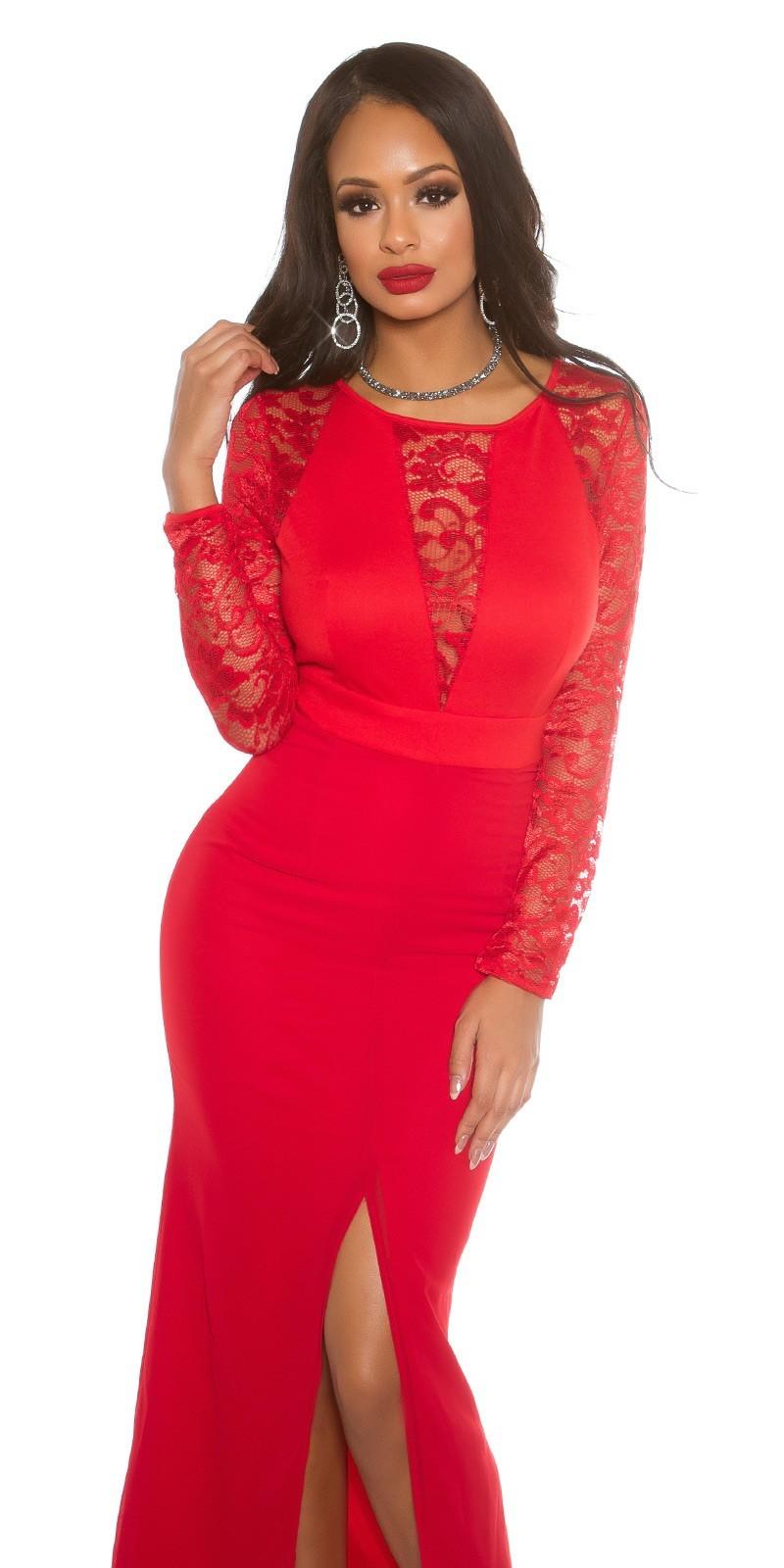 40dc8f4705d3 Dlhé spoločenské šaty Red – Sissy Boutique