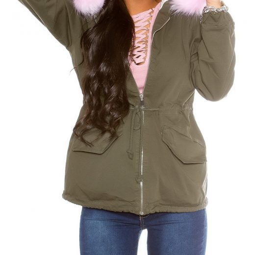 Zimna bunda s kozusinou