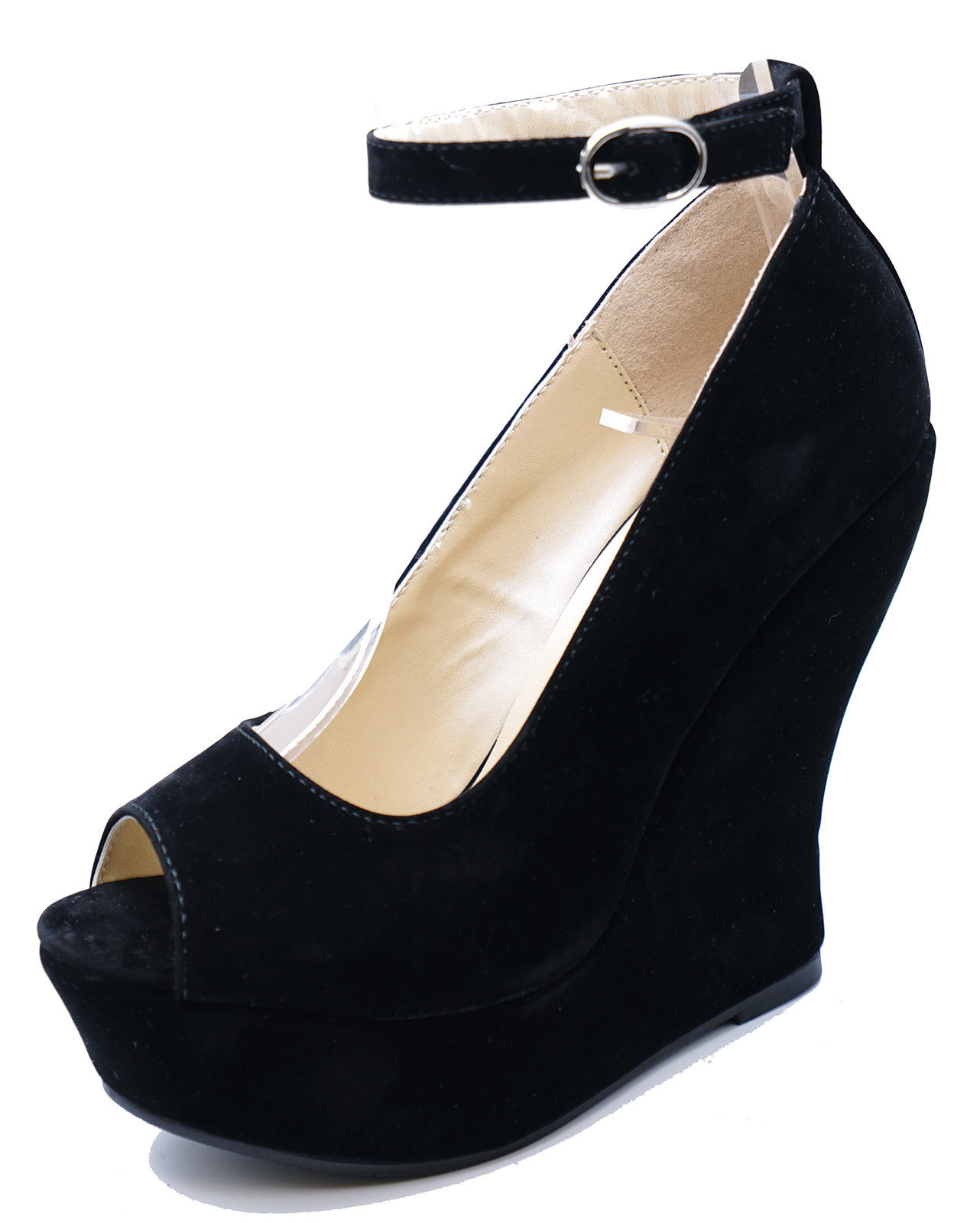 3547177e9cde LODIČKY NA PLNEJ PLATFORME BLACK SUEDE – Sissy Boutique
