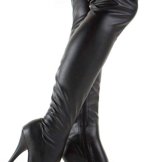 Kozene cizmy nad kolena