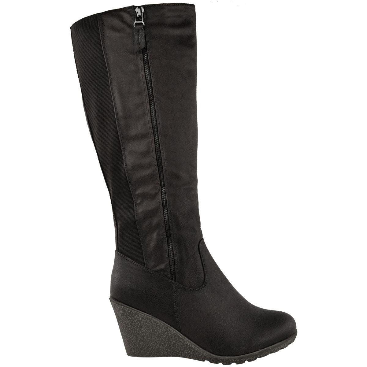 69f7778e561c Čižmy na plnej platforme Black – Sissy Boutique