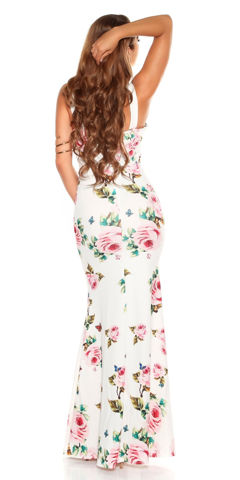a85904a8288d aaMaxidress with  Flower-Print  Color WHITE Size Einheitsgroesse 0000K2855 WEISS 16