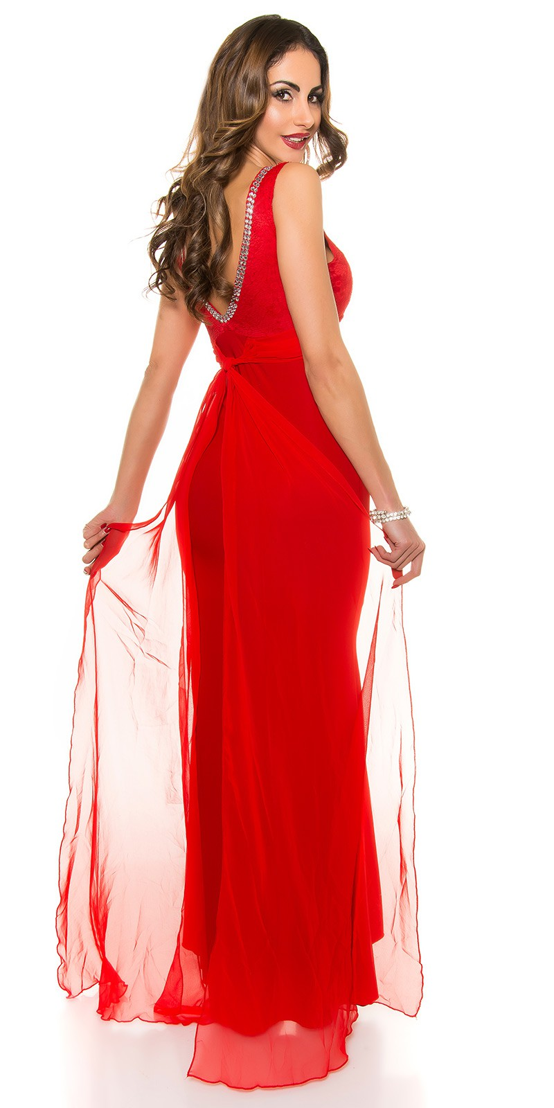 eeSexy Koucla evening dress laces  Color RED Size S 0000K9153 ROT 6 ·  Cervene dlhe spolocenske saty ead1626d1fa