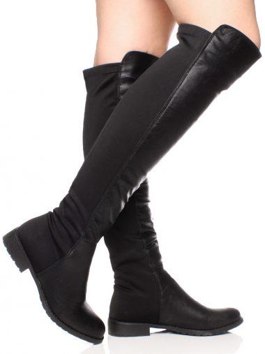 Elasticke cizmy nad kolena