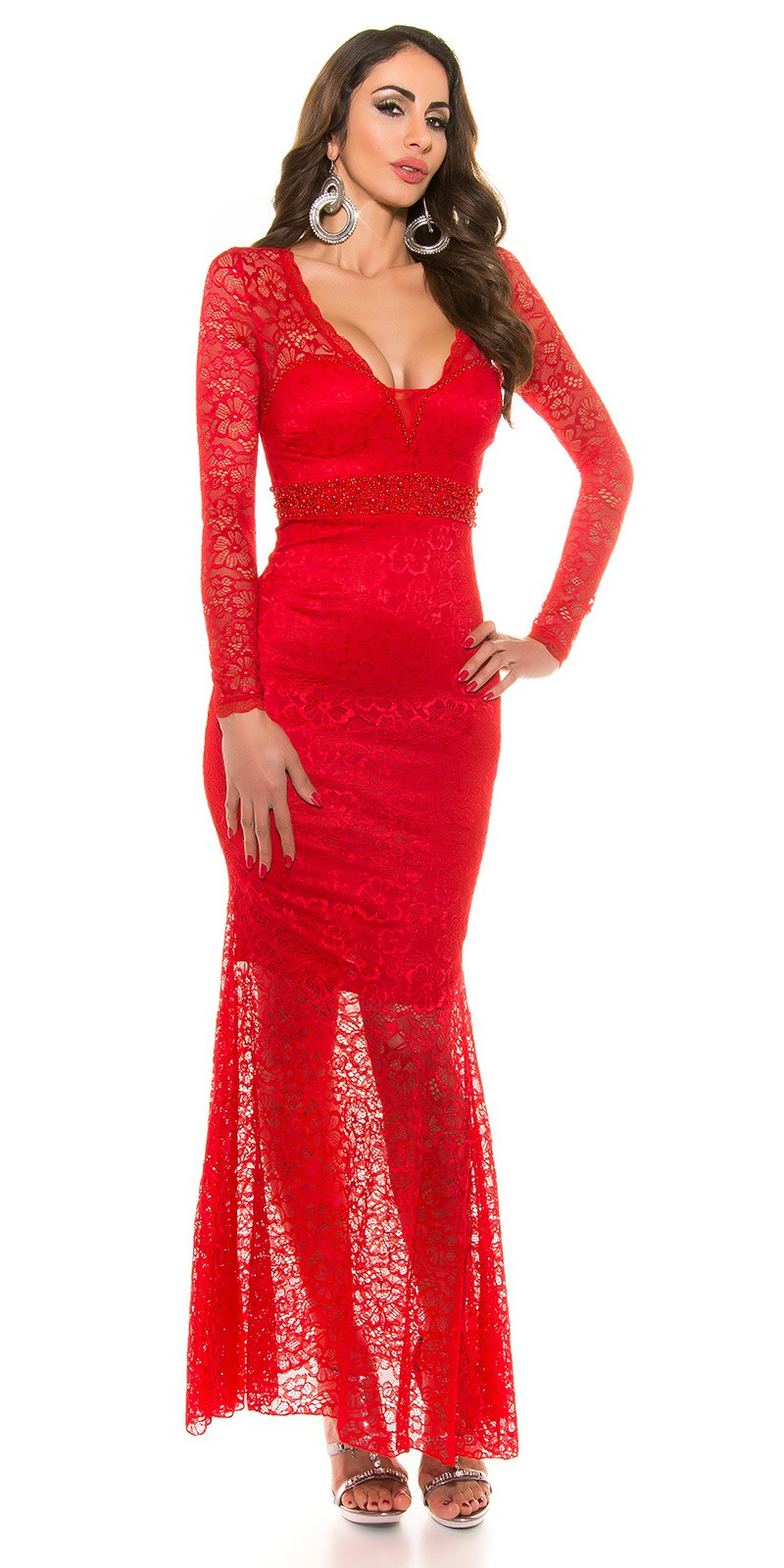 392f6b18c17f ooKoucla evening dress laces  Color RED Size S 0000K9149 ROT 6 ·  ooKoucla evening dress laces  Color RED Size S 0000K9149 ROT 4
