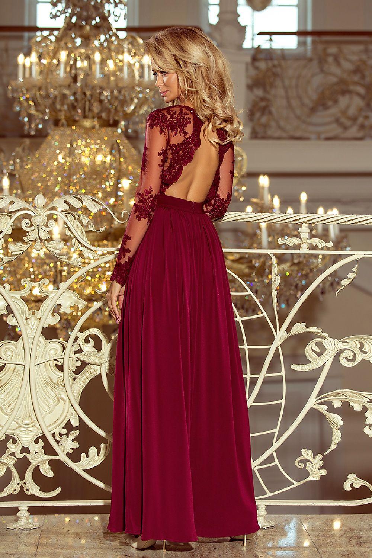 e518d1b40a696 ... dlhéSpoločenské šaty dlhý rukáv Numoco Wine Red.  db_images_custom1000x1500_819573. db_images_custom1000x1500_819572.  db_images_custom1000x1500_819574