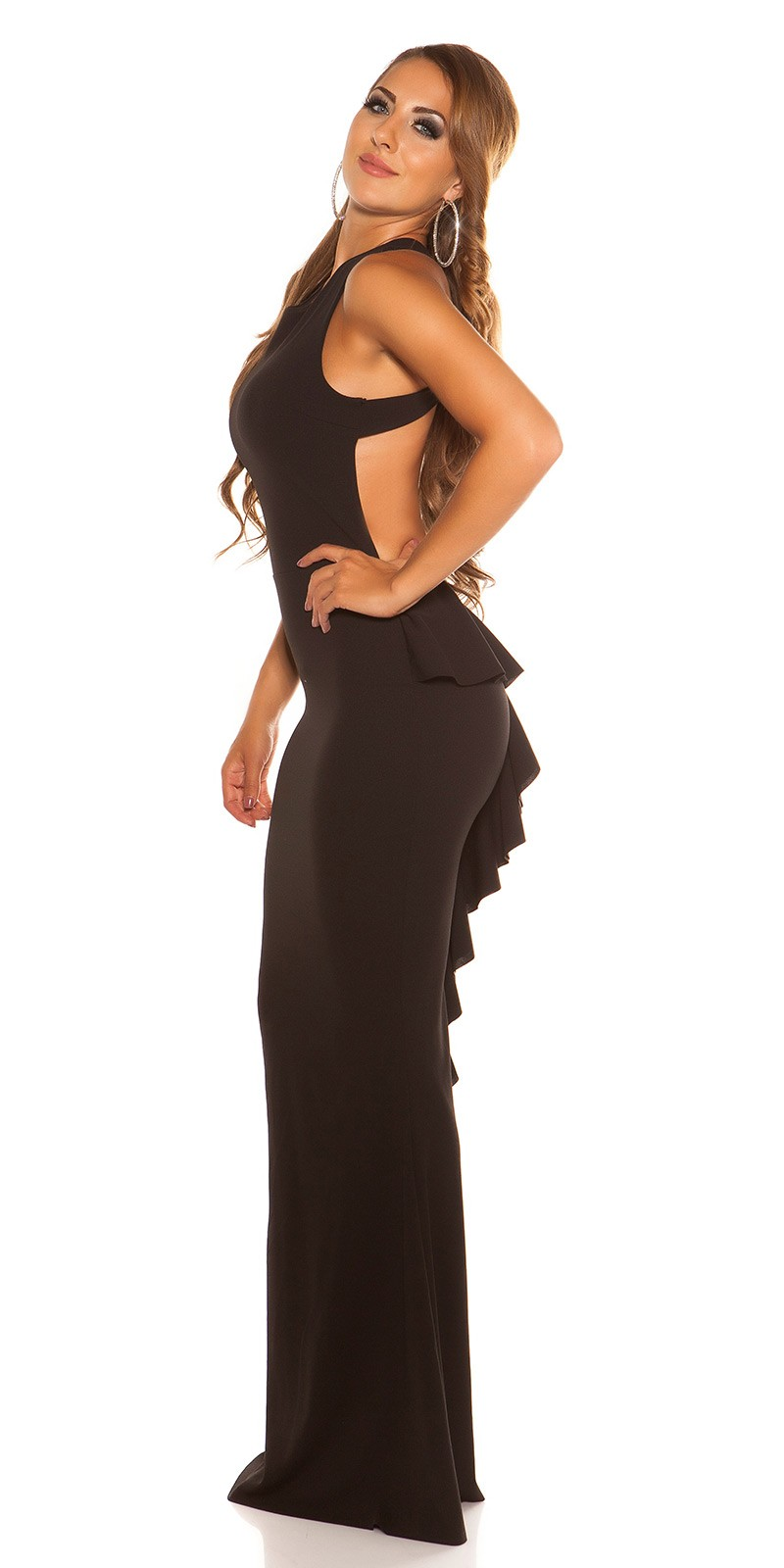 a5317d4760d4 eeSexy evening gown backless  Color BLACK Size Einheitsgroesse 0000V2830 SCHWARZ 31