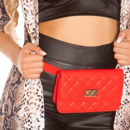Cervena ladvinka kabelka