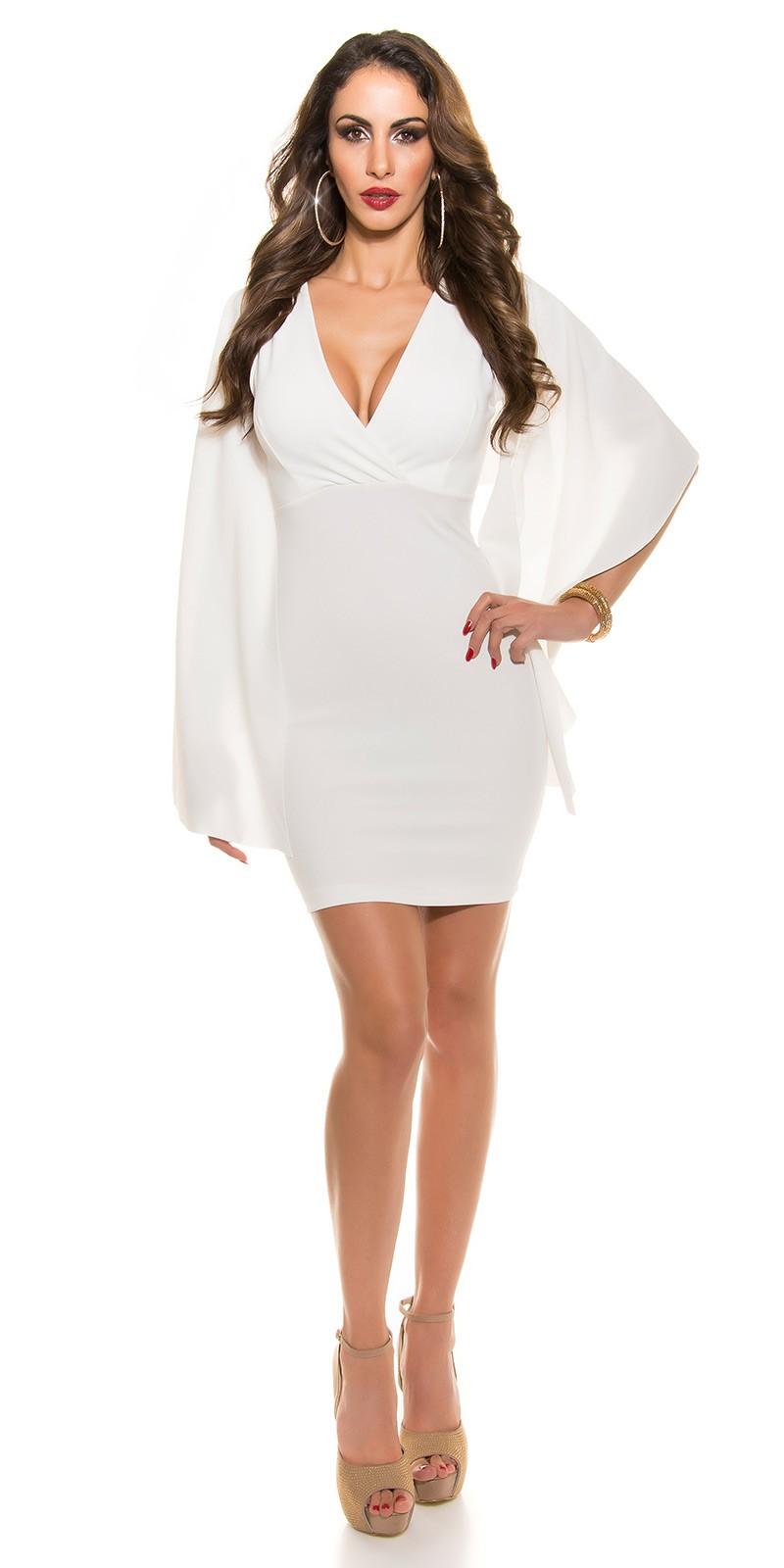 5125feff8e9a ooKouCla  Etui Kleid Katy P Look  Color WHITE Size L 0000K3393-5E WEISS 70  · Biele vecerne saty