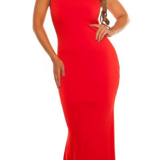 7d1459f82cae2 Dlhé spoločenské šaty s flitrami KouCla Red