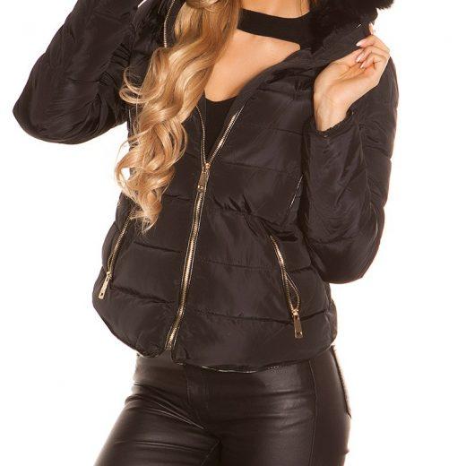 Cierna zimna bunda