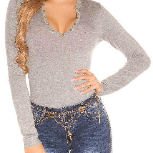 Sedy pulover