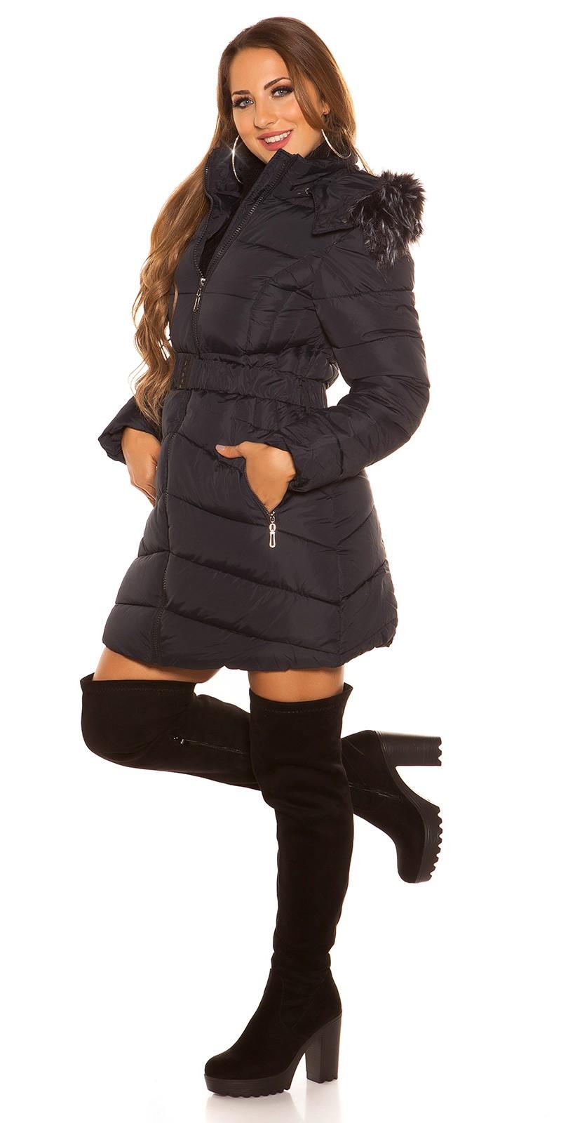 f9320917b uuquilted_coat_with_belt_fake_fur__Color_NAVY_Size_S_0000J1882_MARINE_25.  Tmavomodra dlha zimna damska bunda