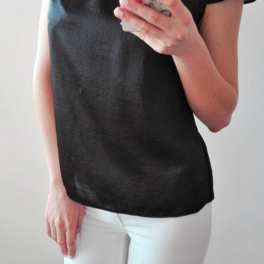 Cierna bluzka