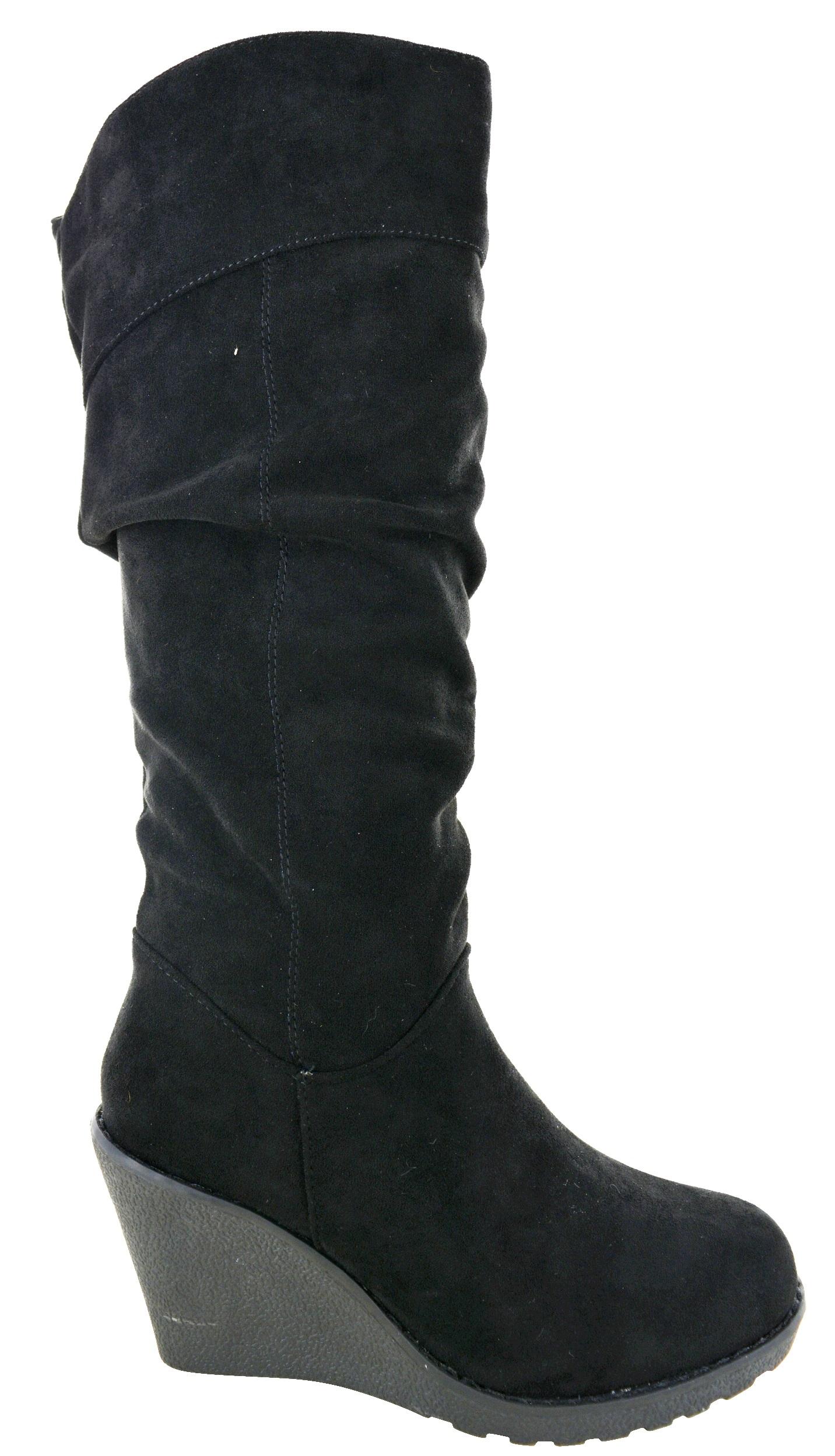 Čižmy na platforme Black Suede – Sissy Boutique bcb7e4d8164