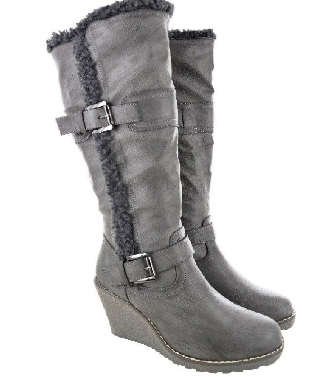 35be99c178d1 Čižmy na platforme Grey – Sissy Boutique