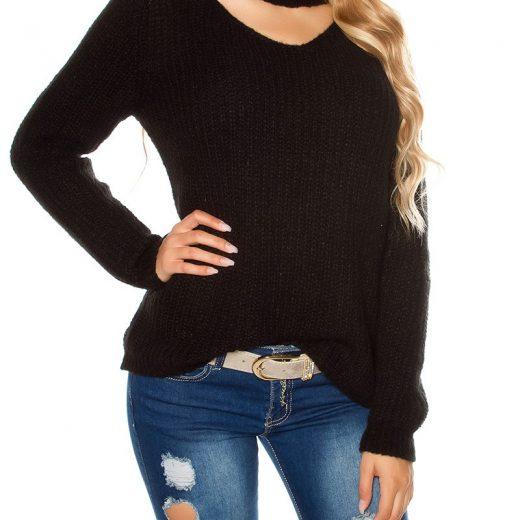 Damsky sveter volneho strihu