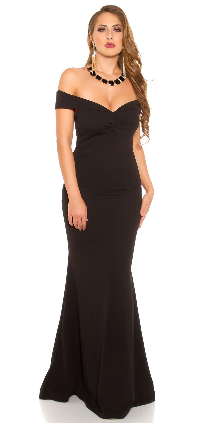 a260c204219d eeRedCarpetLook Evening Gown off shoulder  Color BLACK Size Einheitsgroesse 0000K6039 SCHWARZ 23