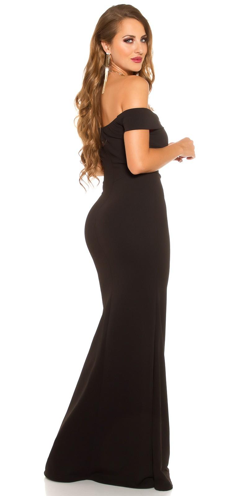 e2d9c7ca51a3 eeRedCarpetLook Evening Gown off shoulder  Color BLACK Size Einheitsgroesse 0000K6039 SCHWARZ 24