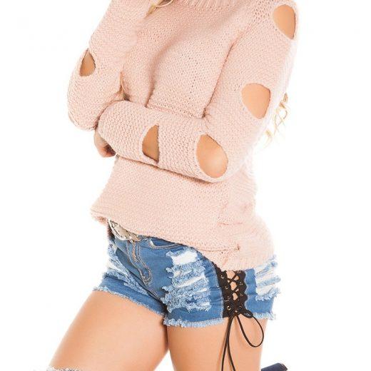 Damsky pleteny sveter