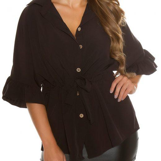Cierne bluzka