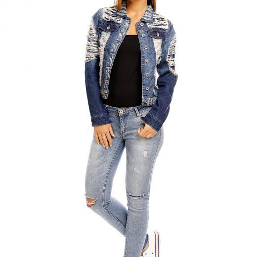 acb516cdaa1b Riflová bunda – Sissy Boutique