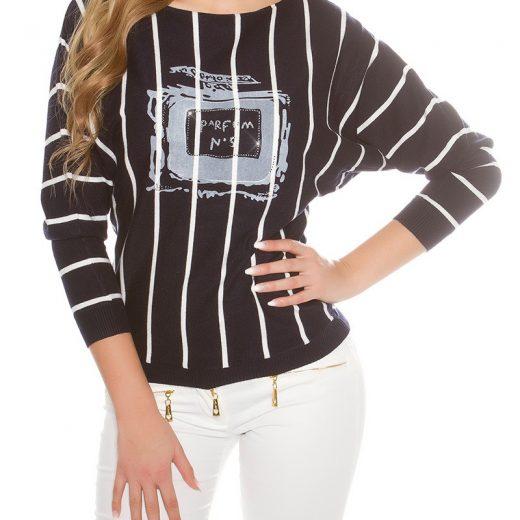 Damsky pruzkovany pulover