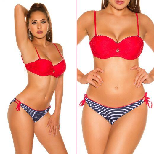 Cervene namornicke plavky