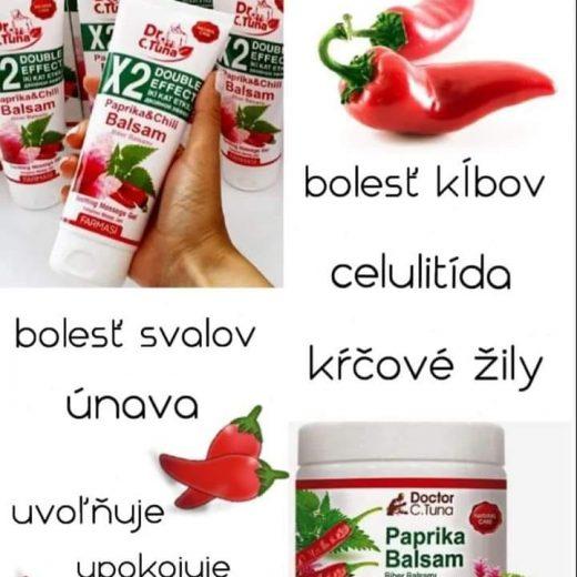 Masazny gel paprika a chilli Farmasi